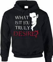 DESIRE HOODIE - INSPIRED BY TOM ELLIS LUCIFER